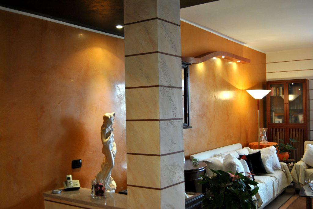 Effetto marmo decorazione materica dall 39 effetto for Bagni con stucco veneziano