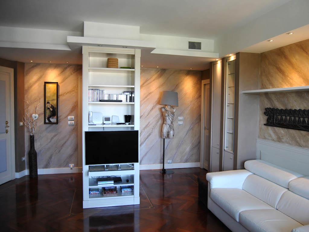 Effetto marmo decorazione materica dall 39 effetto for Decorazione istinto