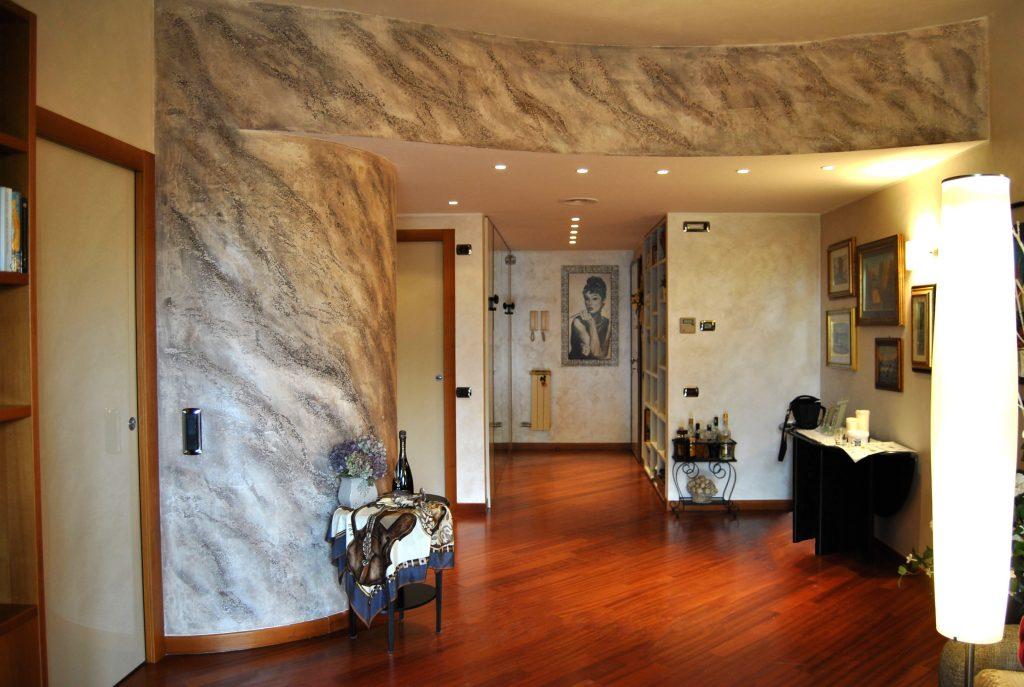 Giorgio graesan friends decorazioni materiche e - Pietra parete soggiorno ...